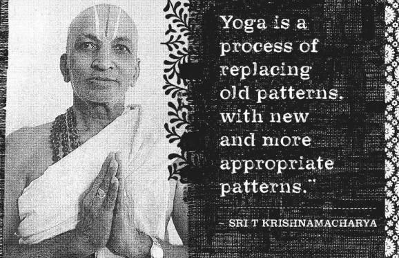 krishnamacharya yoga