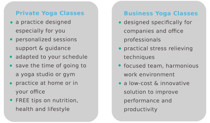 private business yoga benefits